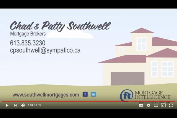 Mortgage Let down Chad & Patty Southwell